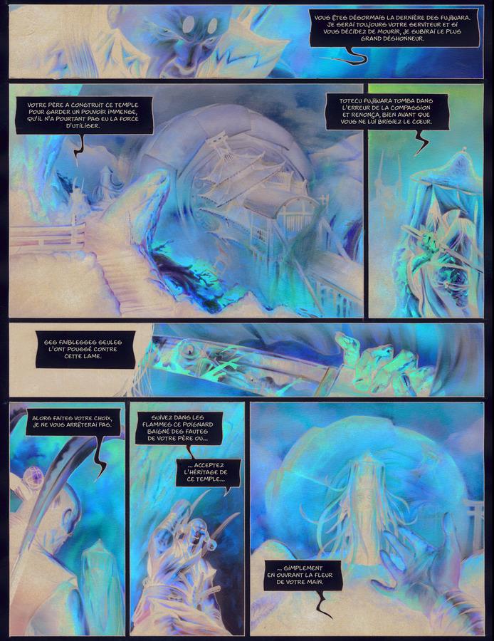 Extrait 0 : La Légende des nuées écarlates - Numérique T4 : La Fleur cachée de l'abomination
