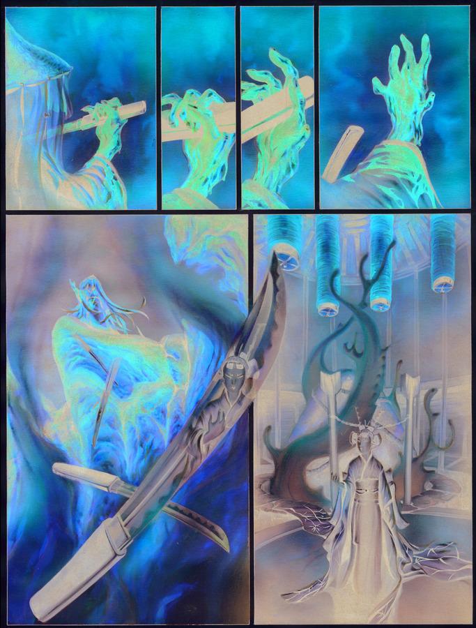 Extrait 1 : La Légende des nuées écarlates - Numérique T4 : La Fleur cachée de l'abomination