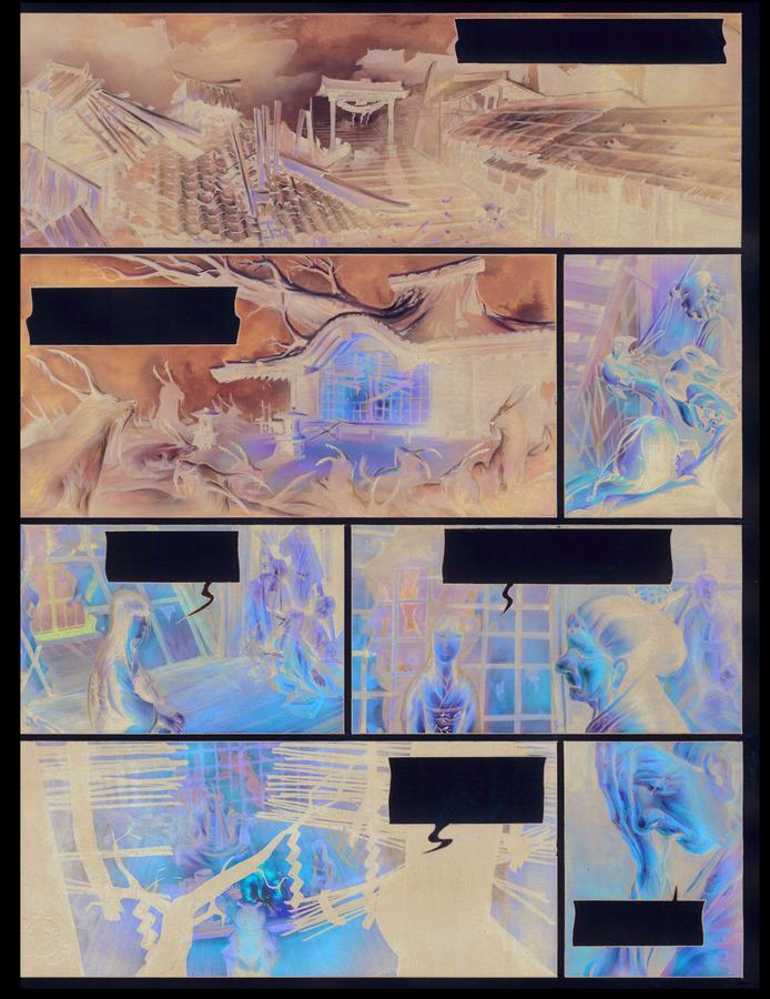 Extrait 2 : La Légende des nuées écarlates - Numérique T4 : La Fleur cachée de l'abomination