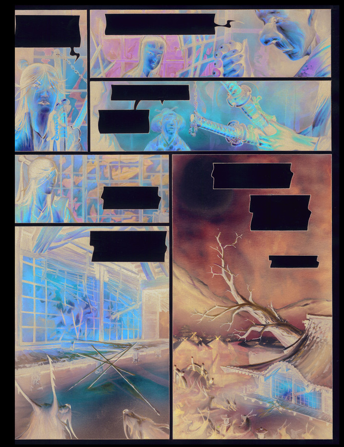 Extrait 4 : La Légende des nuées écarlates - Numérique T4 : La Fleur cachée de l'abomination