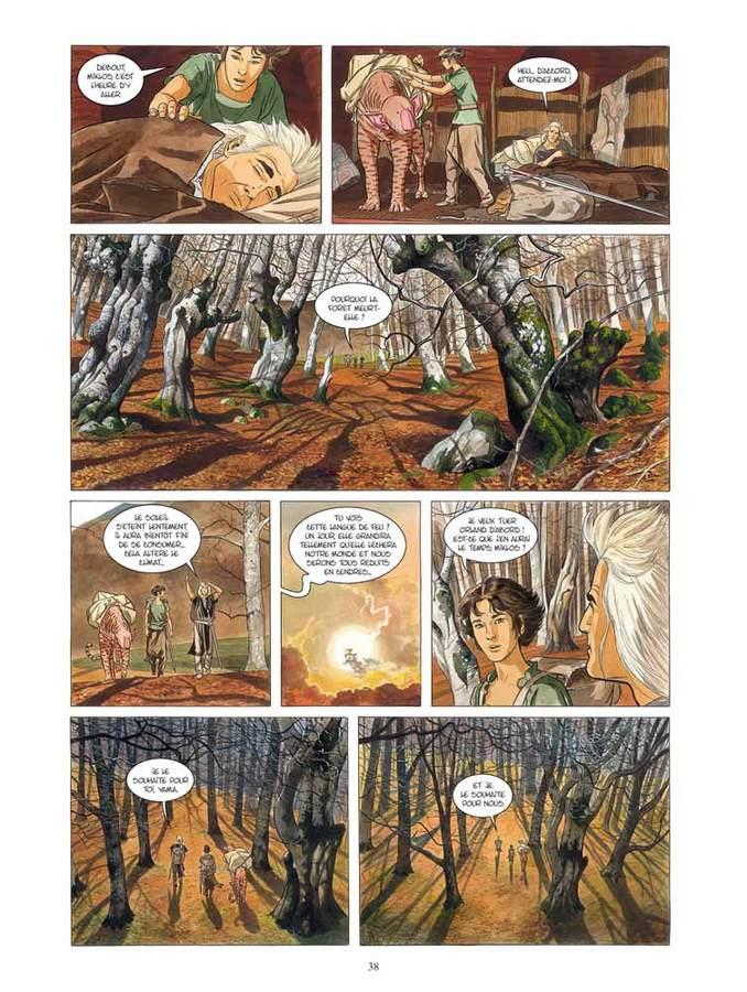 Extrait 1 : Les Epées de verre - Numérique T1 : Yama