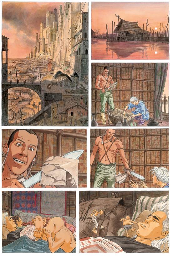Extrait 1 : Les Epées de verre - Numérique T2 : Ilango