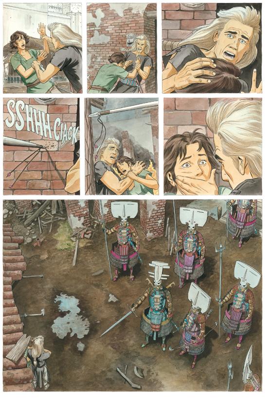 Extrait 2 : Les Epées de verre - Numérique T2 : Ilango
