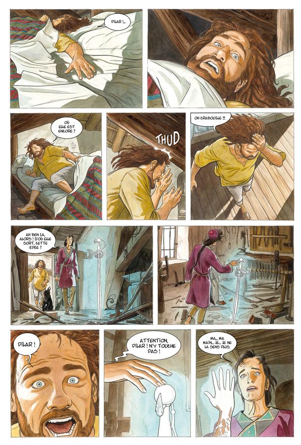 Extrait 2 : Les Epées de verre - Numérique T3 : Tigran