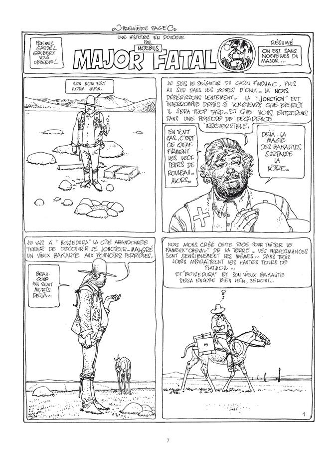 Extrait 0 : Mœbius Œuvres - Numérique : Le Garage hermétique classique