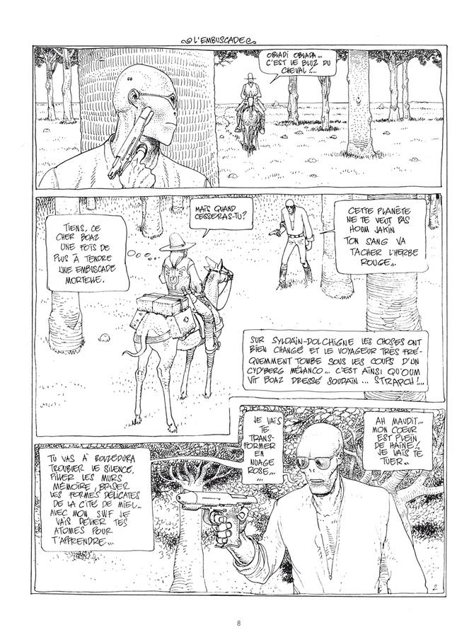 Extrait 1 : Mœbius Œuvres - Numérique : Le Garage hermétique classique