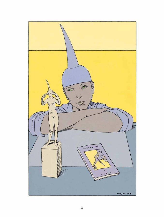 Extrait 1 : Mœbius Œuvres - Numérique : Chaos - Recueil d'illustrations