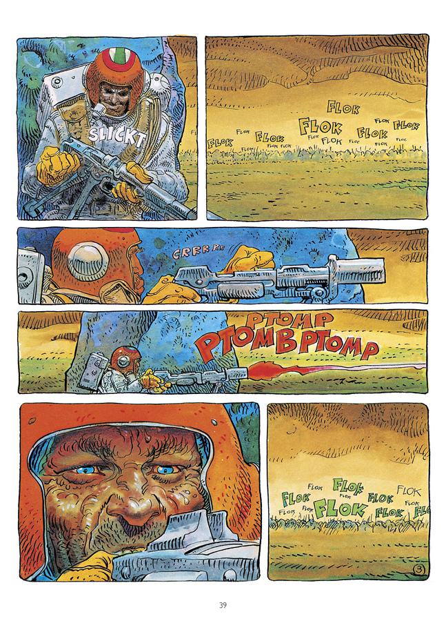 Extrait 2 : Mœbius Œuvres - Numérique : Escale sur Pharagonescia USA