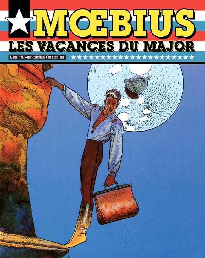 Mœbius Œuvres - Numérique : Les Vacances du Major USA