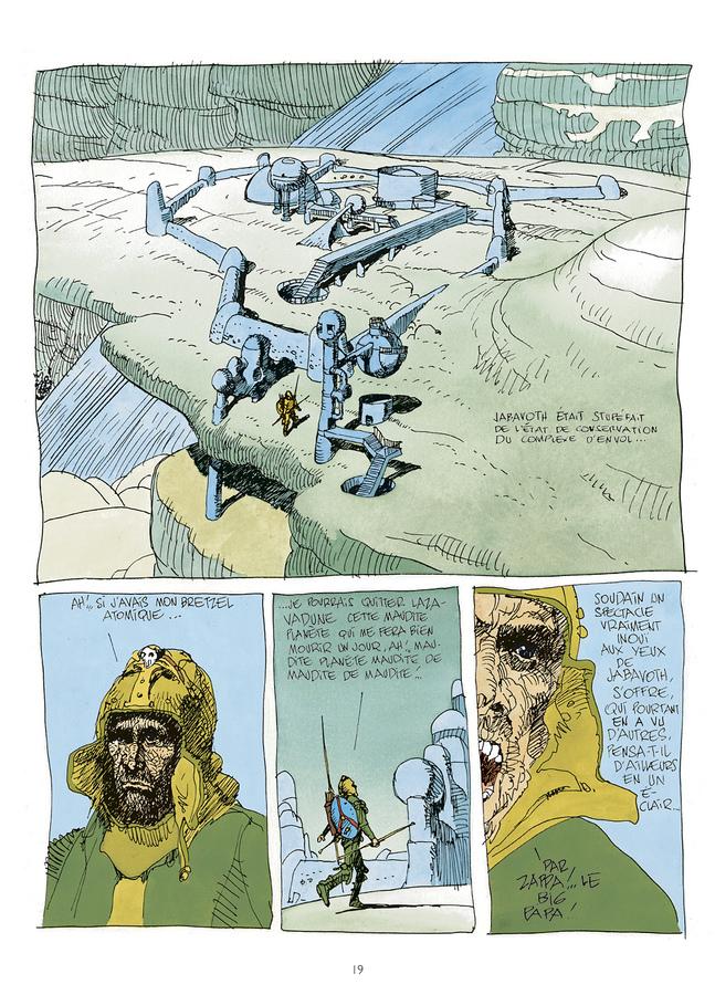 Extrait 1 : Mœbius Œuvres - Numérique : Les Vacances du Major USA
