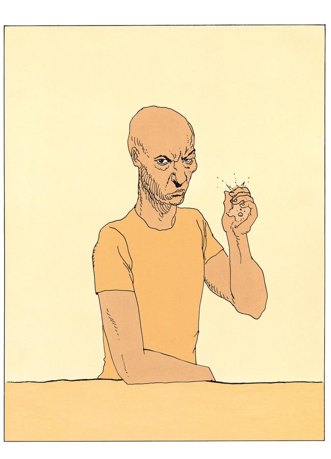 Extrait 3 : Mœbius Œuvres - Numérique : Le Bandard Fou USA