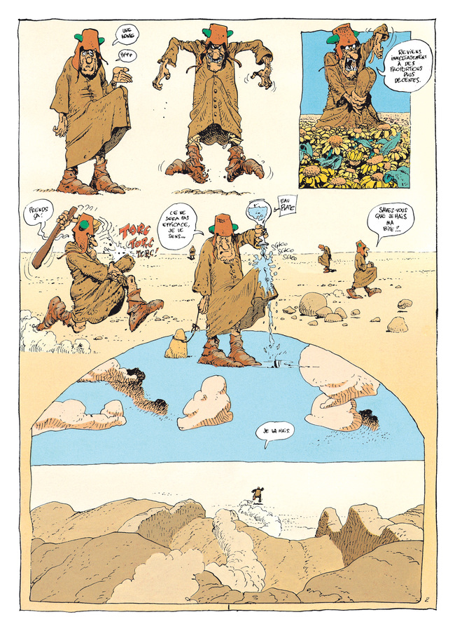 Extrait 2 : Mœbius Œuvres - Numérique : Le Bandard Fou USA