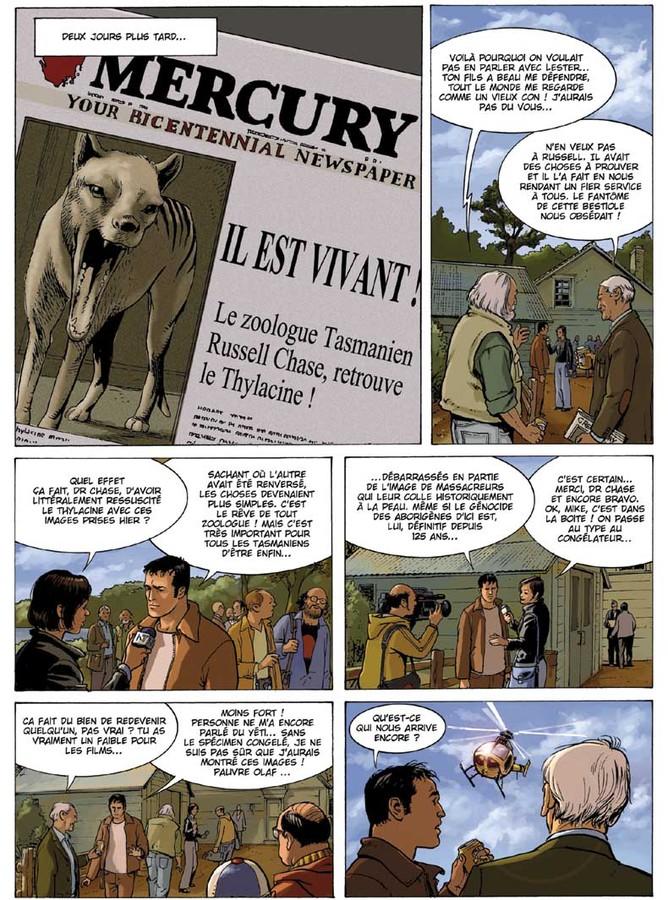 Extrait 3 : Russell Chase - Numérique T1 : Loup de Tasmanie