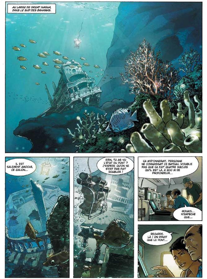 Extrait 0 : Russell Chase - Numérique T3 : Bleu Caraïbes