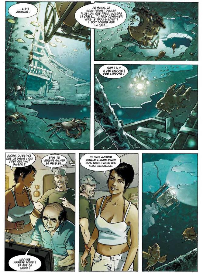Extrait 1 : Russell Chase - Numérique T3 : Bleu Caraïbes