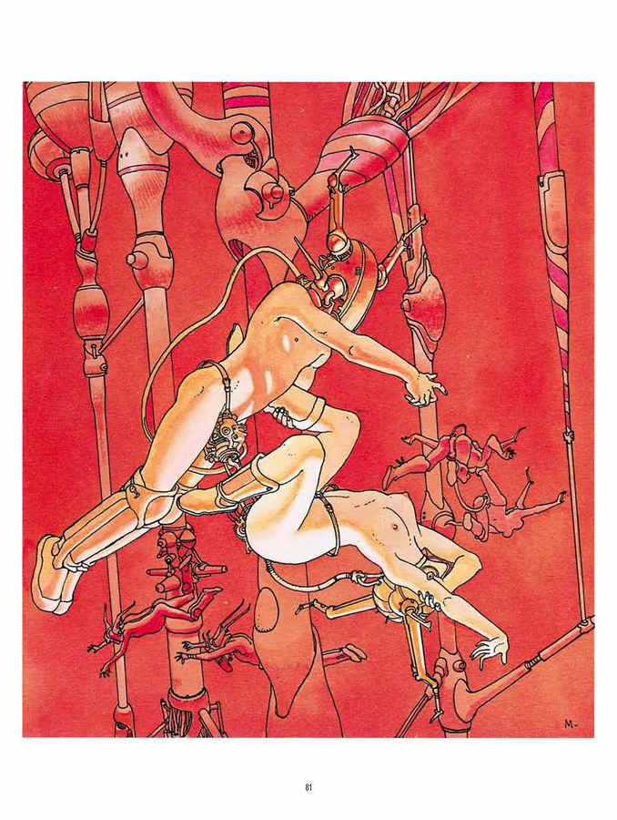 Extrait 3 : Mœbius Œuvres - Numérique : Chroniques métalliques - Recueil d'illustrations