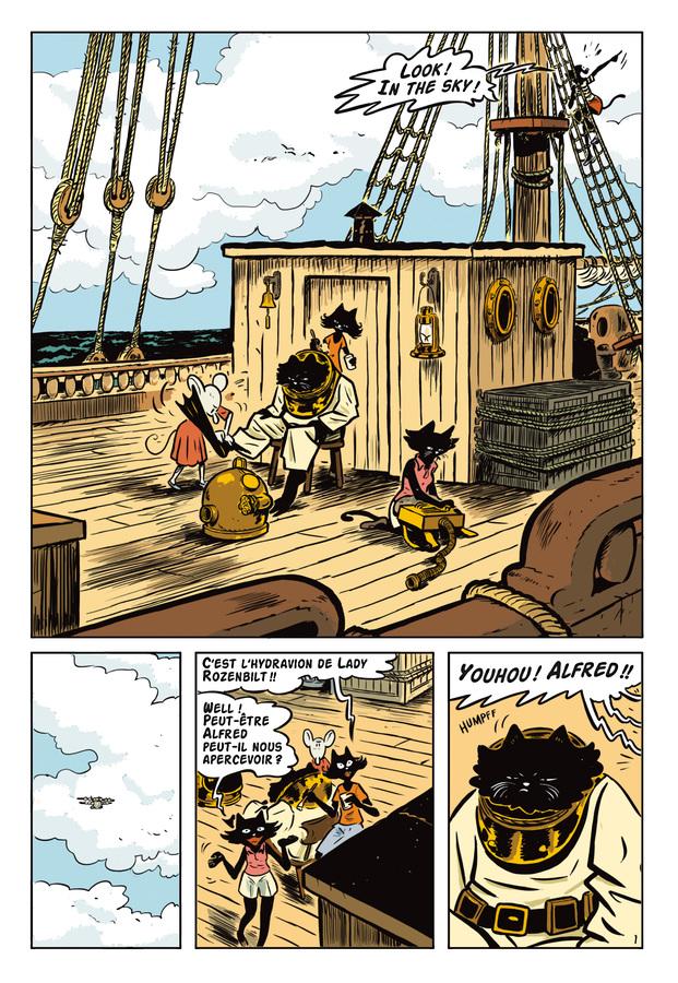 Extrait 0 : L'Extravagante Croisière de Lady Rozenbilt - Numérique