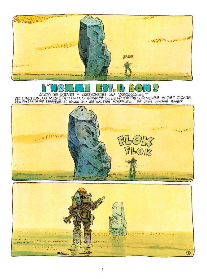 Extrait 0 : Mœbius Œuvres : L'Homme est-il bon? Classique