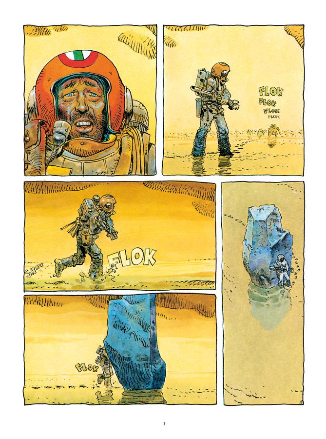 Extrait 1 : Mœbius Œuvres : L'Homme est-il bon? Classique