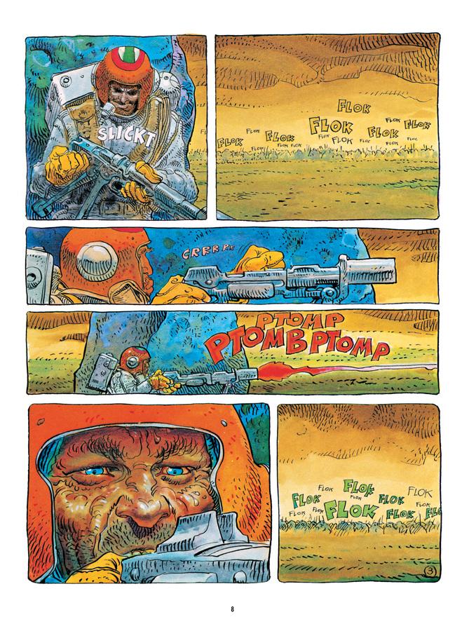 Extrait 2 : Mœbius Œuvres : L'Homme est-il bon? Classique