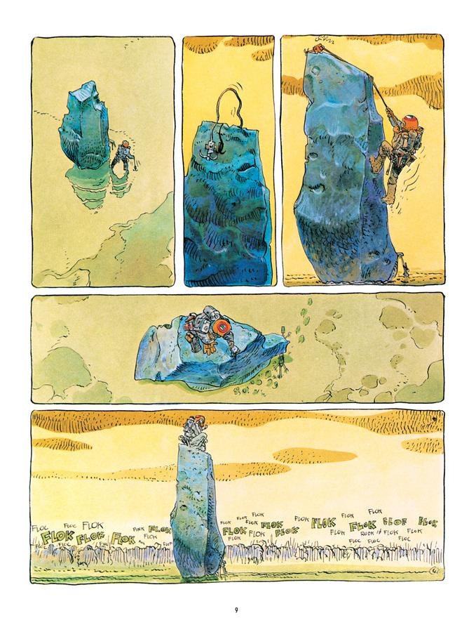 Extrait 3 : Mœbius Œuvres : L'Homme est-il bon? Classique