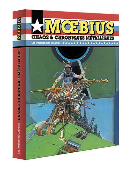 Mœbius Œuvres - Coffret : Chaos et Chroniques métalliques - USA