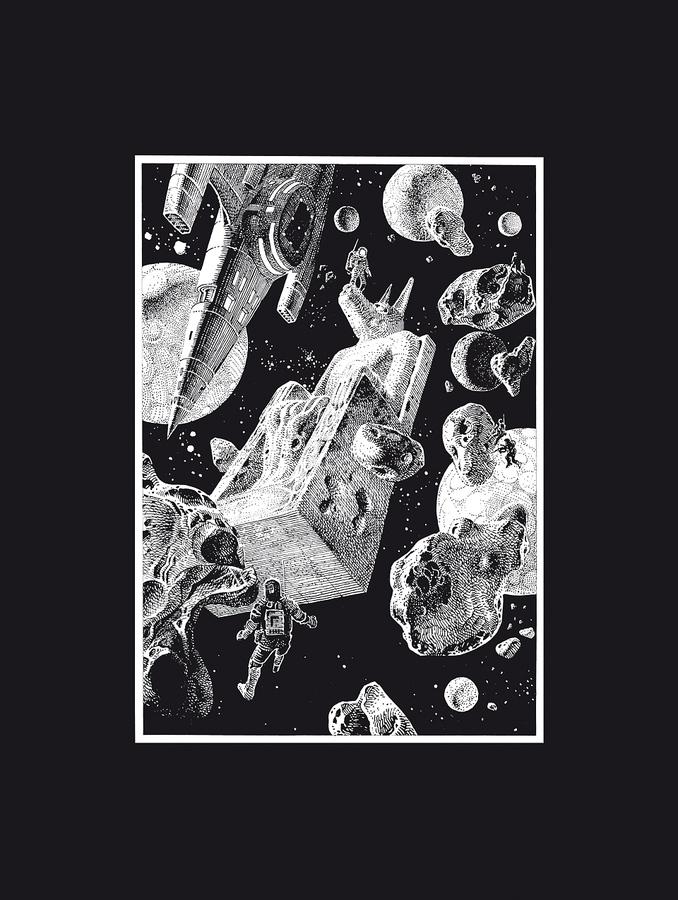 Extrait 0 : Mœbius Œuvres - Coffret : Chaos et Chroniques métalliques - USA