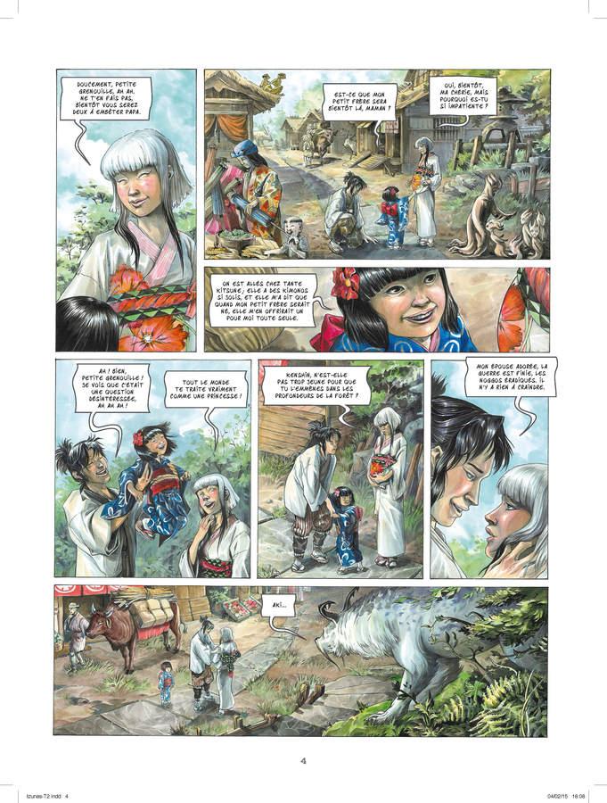 Extrait 1 : Izunas T2 : Yamibushi