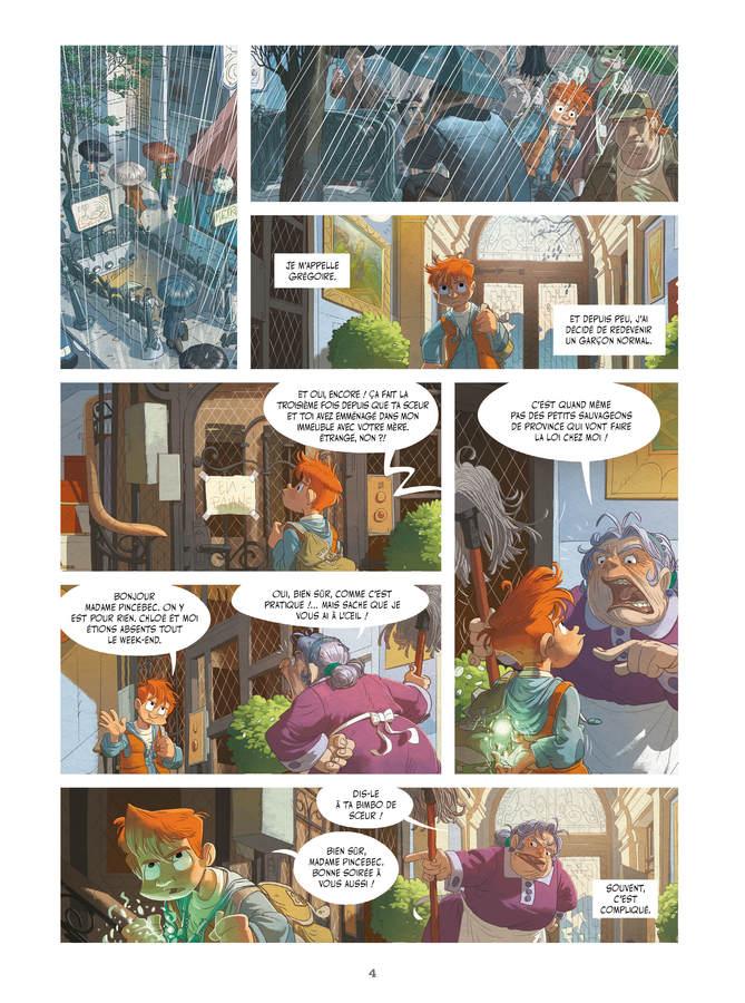 Extrait 1 : Les Mondes cachés T1 : L'Arbre-forêt