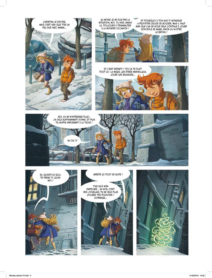 Extrait 2 : Les Mondes cachés T2 : La Confrérie secrète