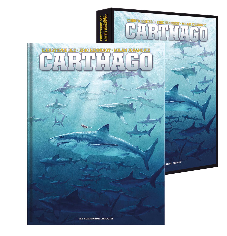 Carthago - Intégrale 10 ans - Tomes 1 à 5 - coffret 3D