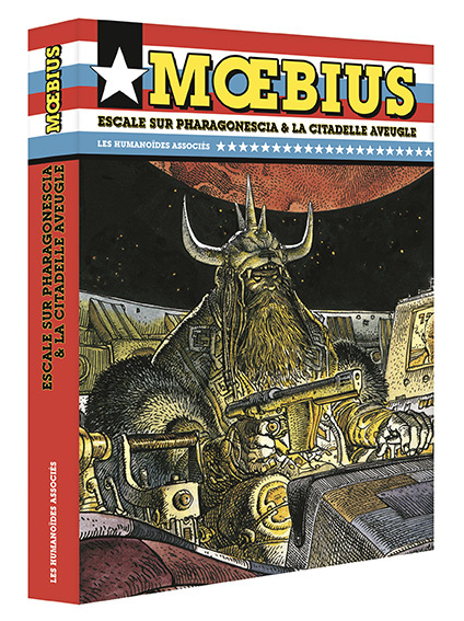 Mœbius Œuvres - Coffret : Escale sur Pharagonescia + La Citadelle aveugle USA