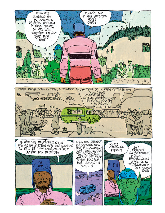Extrait 2 : Mœbius Œuvres - Coffret : Escale sur Pharagonescia + La Citadelle aveugle USA