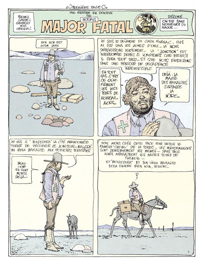 Extrait 0 : Mœbius Œuvres - Coffret : Le Garage hermétique + L'Homme du Ciguri USA