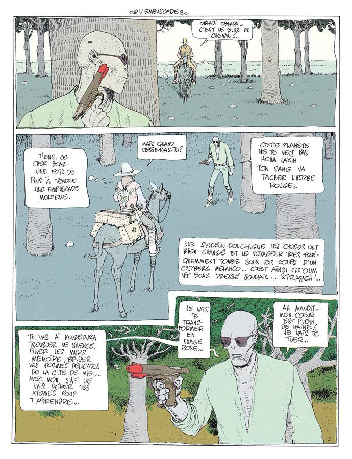 Extrait 1 : Mœbius Œuvres - Coffret : Le Garage hermétique + L'Homme du Ciguri USA