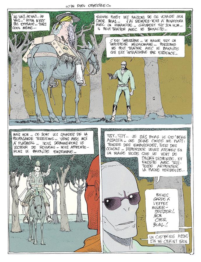 Extrait 2 : Mœbius Œuvres - Coffret : Le Garage hermétique + L'Homme du Ciguri USA