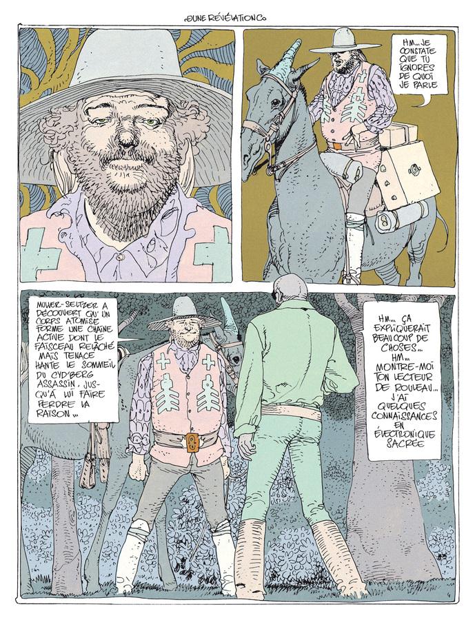 Extrait 3 : Mœbius Œuvres - Coffret : Le Garage hermétique + L'Homme du Ciguri USA