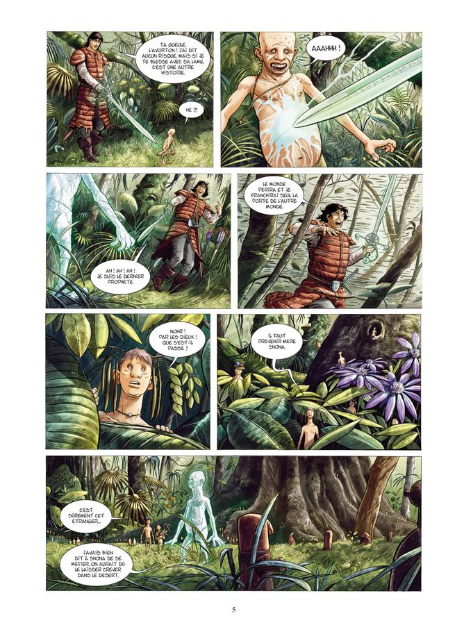 Extrait 2 : Les Epées de verre - Numérique T4 : Dolmon