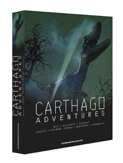 Carthago Adventures - Coffret T1 à 4
