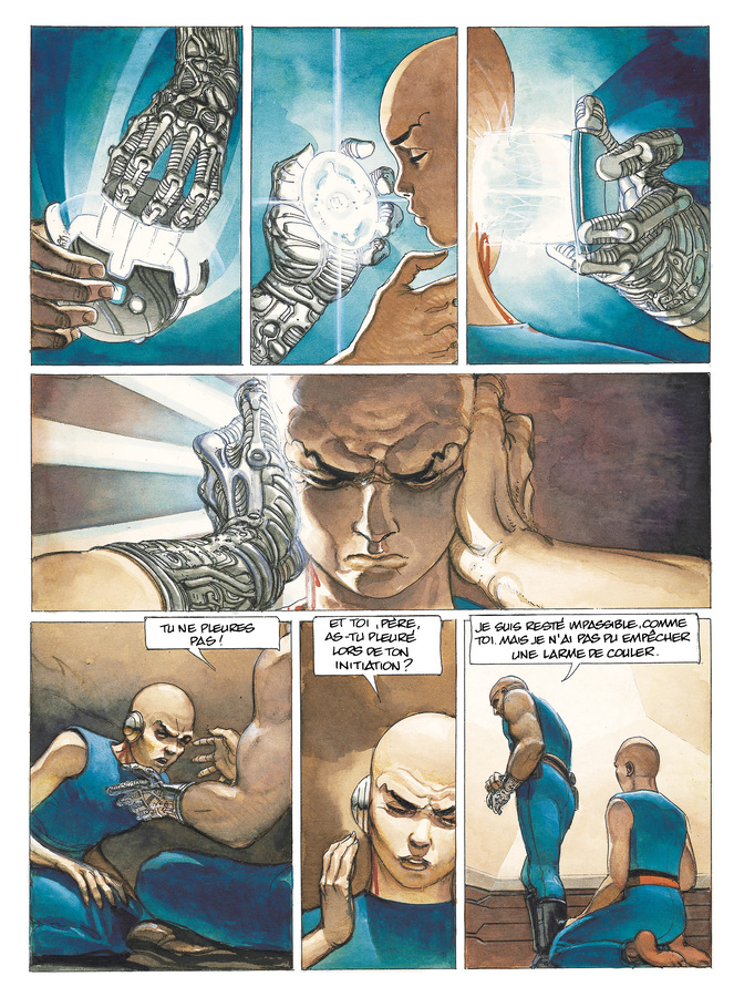 Extrait 3 : La Caste des Méta-Barons T1 : Othon le Trisaïeul
