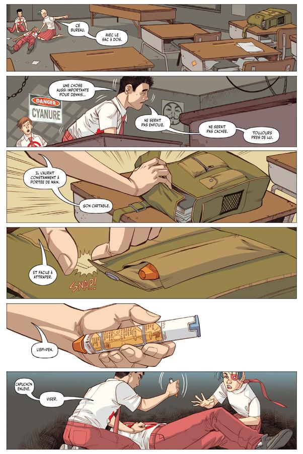 Extrait 1 : Five Weapons T4 : La Sixième Arme