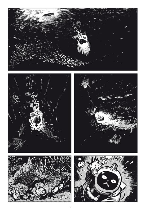 Extrait 2 : L'Extravagante Croisière de Lady Rozenbilt édition noir et blanc