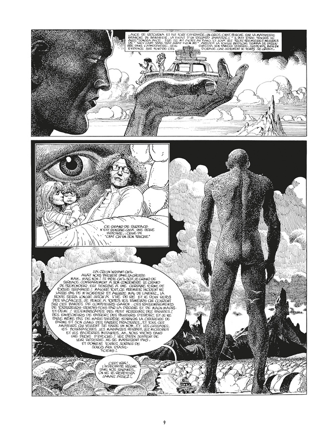 Extrait 2 : Mœbius Œuvres - 30*40 : L'Homme est-il bon ?