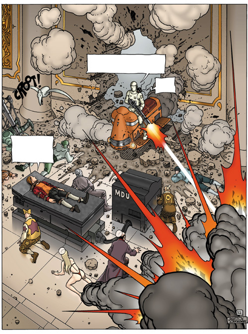 Extrait 1 : Avant l'Incal T3 : Croot