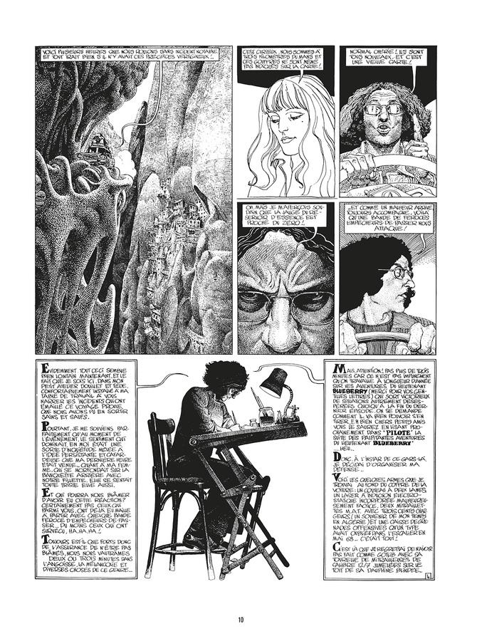 Extrait 3 : Mœbius Œuvres - 30*40 : L'Homme du Ciguri
