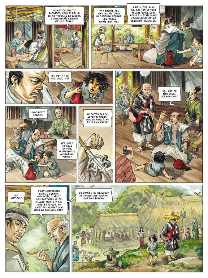 Extrait 3 : Izunas - Numérique T3 : Namaenashi