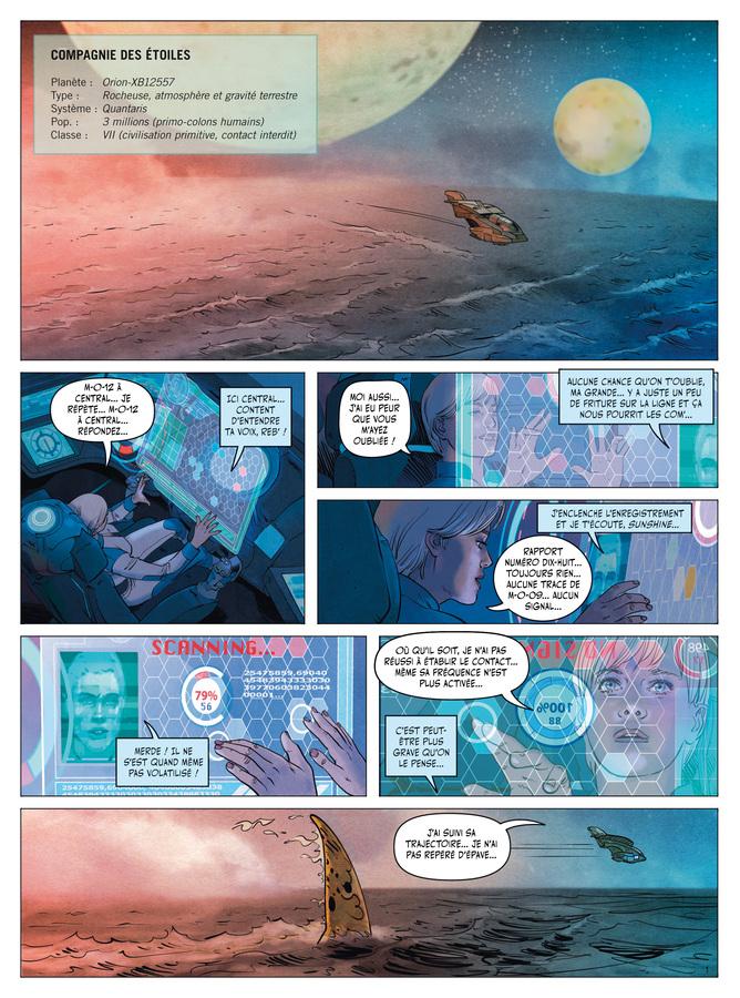 Extrait 0 : Les Décastés d'Orion - Numérique T1