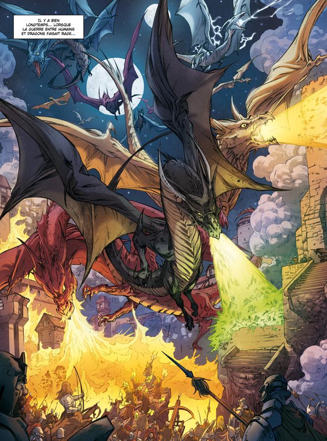 Extrait 0 : Dragonseed - Numérique T3 : Quand pleurent les dragons
