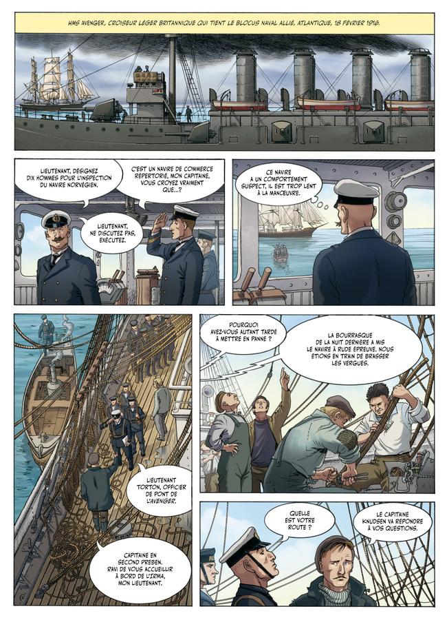 Extrait 1 : L'Aigle des mers - Numérique T1 : Atlantique 1916