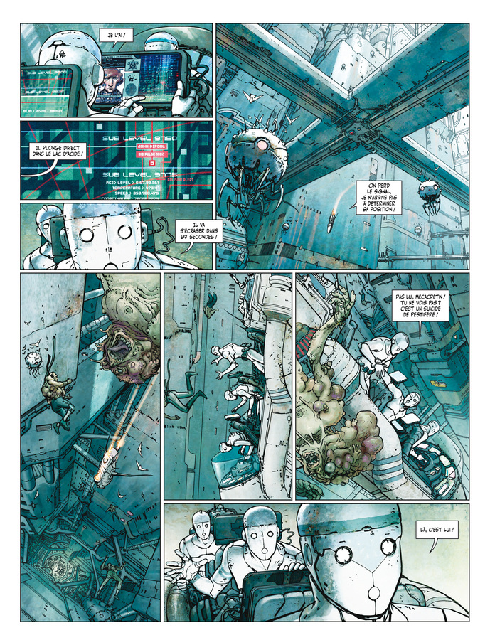 Extrait 0 : Final Incal T1 : Les Quatre John Difool